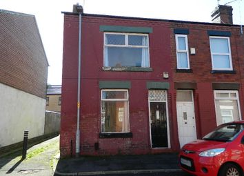 Thumbnail 2 bedroom terraced house for sale in Godwin Street, Abbey Hey, Manchester