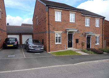 Thumbnail 3 bedroom semi-detached house for sale in Redmire Drive, Consett
