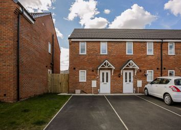 Thumbnail 2 bed end terrace house for sale in 61 Brockwell Park, Kingswood, Hull