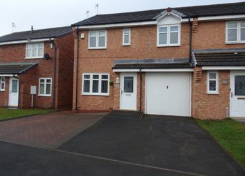 Thumbnail 3 bedroom semi-detached house for sale in Blackthorn Drive, Blyth