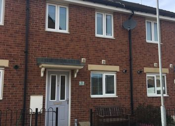 Thumbnail 3 bed terraced house to rent in Hedgehope Walk, Blyth