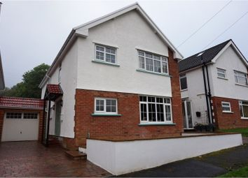 Thumbnail 4 bed detached house for sale in Maesyffynon Grove, Aberdare
