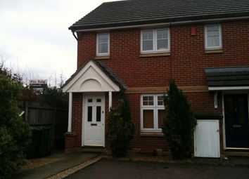 Thumbnail 2 bed end terrace house to rent in Berberry Close, Edgware, Middlesex