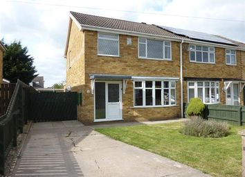 Thumbnail 3 bed semi-detached house for sale in St Nicholas Drive, Wybers Wood, Grimsby