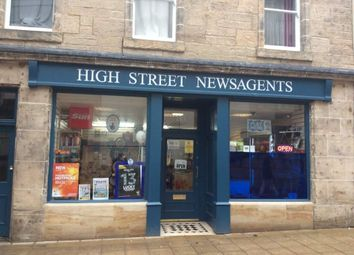 Thumbnail Retail premises for sale in High Street News, Falkirk