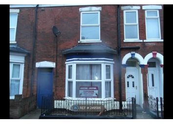 Thumbnail 3 bed terraced house to rent in Severn Street, Hull