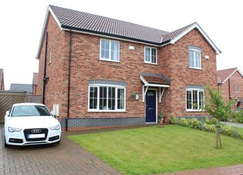 Thumbnail 3 bed semi-detached house for sale in Garsdale Close, Scunthorpe