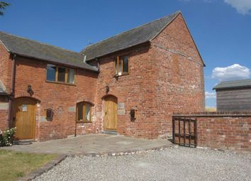Thumbnail 3 bed barn conversion to rent in Wooton Farm, Queens Head, Oswestry