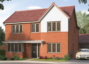 "Thumbnail 4 bed detached house for sale in ""The Modbury"" at Etwall Road, Mickleover, Derby"