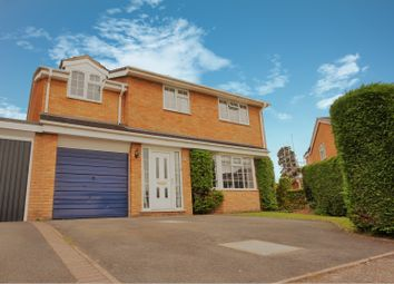 Thumbnail 4 bed detached house for sale in Burnham Avenue, Shrewsbury