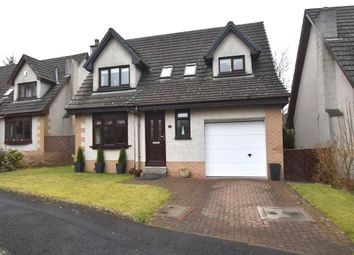 Thumbnail 4 bed detached house for sale in Glenfield, Livingston