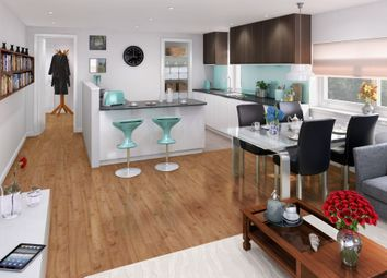 Thumbnail 3 bedroom flat for sale in Urban Eden, Edinburgh