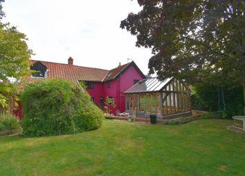 Thumbnail 4 bed detached house for sale in Crowfield, Ipswich, Suffolk