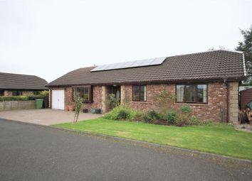 Thumbnail 4 bed detached bungalow for sale in Cairn Park, Longframlington, Morpeth