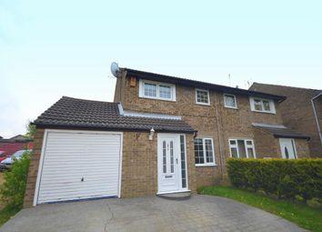 Thumbnail 3 bed semi-detached house for sale in Oakridge, Furzton, Milton Keynes, Buckignhamshire