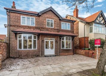 Thumbnail 4 bed detached house for sale in Woodville Avenue, Crosby, Merseyside