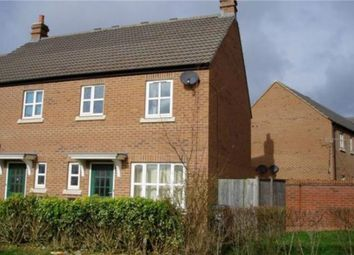Thumbnail 3 bed end terrace house to rent in Massingham Park, Taunton