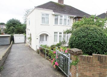 Thumbnail 3 bed semi-detached house to rent in Oaklands Road, Bridgend