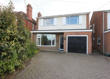 Thumbnail 3 bed detached house for sale in Desford Road, Newbold Verdon, Leicester