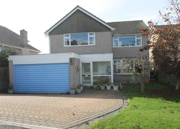 Thumbnail 4 bed detached house for sale in Warren Close, Wembury, Plymouth