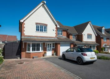 Thumbnail 4 bed detached house for sale in Eversleigh Rise, Whitstable