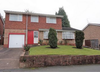 Thumbnail 4 bed detached house for sale in Moorfield Drive, Halesowen