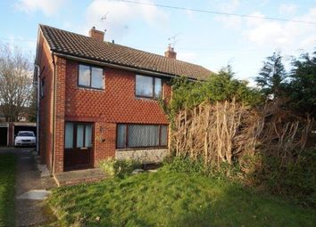 Thumbnail 3 bed semi-detached house for sale in Chase Road, Lindford