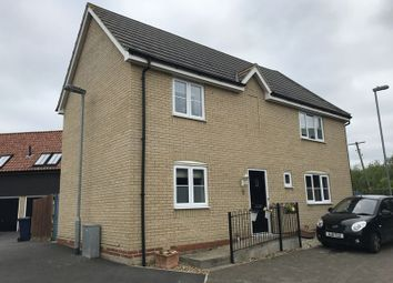 Thumbnail 3 bed semi-detached house for sale in Greenacre Close, Godmanchester, Huntingdon