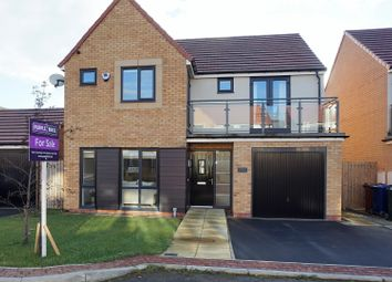 Thumbnail 4 bed detached house for sale in Birchwood Chase, Newcastle Upon Tyne