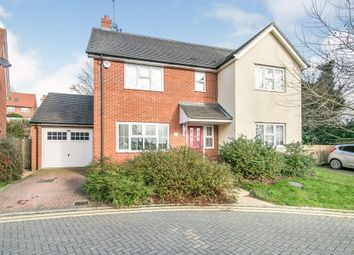 Thumbnail 4 bedroom detached house for sale in Kiln Close, Ipswich