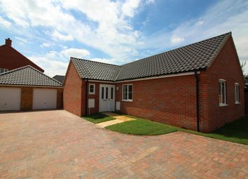 Thumbnail 3 bedroom detached bungalow for sale in Gray Close, Brundall, Norwich