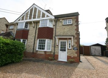 Thumbnail 3 bed semi-detached house for sale in Station Road, Lower Stondon