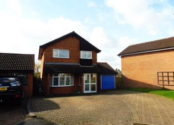 Thumbnail 4 bed detached house for sale in Broom Close, Rugby