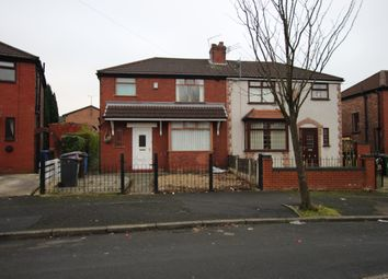 Thumbnail 3 bedroom semi-detached house to rent in Oakfield Avenue, Manchester