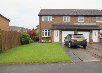 Thumbnail 3 bed semi-detached house for sale in Ingham Grove, Cramlington
