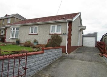 Thumbnail 2 bed detached bungalow for sale in Cefn Byrle Road, Coelbren, Powys.