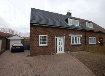Thumbnail 3 bed semi-detached house for sale in Thornhill Road, Ponteland, Newcastle Upon Tyne