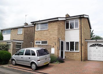 Thumbnail 4 bed detached house for sale in Dove House Close, Bromham, Bedford