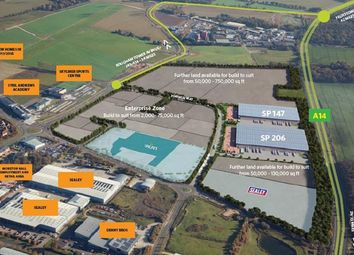 Thumbnail Light industrial to let in Enterprise Zone, Suffolk Park, Suffolk, Bury St Edmunds IP327Qb