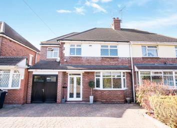 Thumbnail 4 bed semi-detached house for sale in Wood End Rd, Walsall
