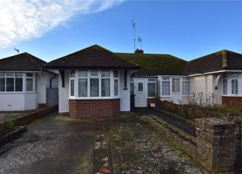 Thumbnail 2 bed semi-detached bungalow for sale in Bristol Avenue, Lancing, West Sussex