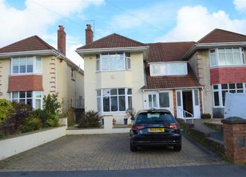 Thumbnail 3 bed semi-detached house for sale in Lon Cae Banc, Swansea