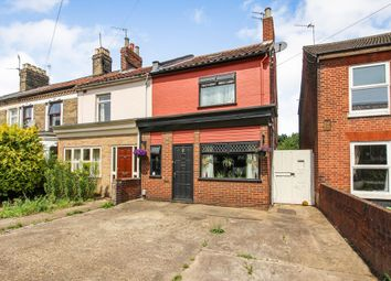 Thumbnail 3 bed end terrace house for sale in Denmark Opening, Sprowston Road, Norwich