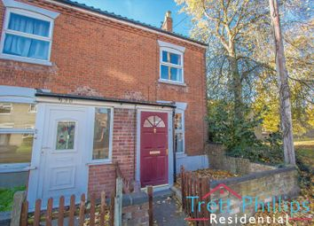 Thumbnail 2 bed end terrace house to rent in Bull Close Road, Norwich