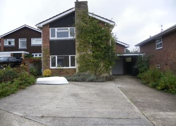Thumbnail 3 bed detached house to rent in Cheviot Close, Newbury