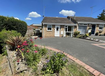 Thumbnail 2 bed semi-detached bungalow for sale in Clifton Close, Swadlincote