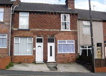 Thumbnail 2 bedroom terraced house to rent in Foljambe Road, Chesterfield, Derbyshire