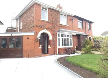 Thumbnail 3 bed semi-detached house for sale in Grimshaw Street, Golborne, Warrington, Greater Manchester