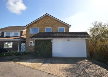 Thumbnail 4 bed detached house for sale in Penman Close, Chiswell Green, St. Albans