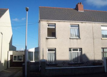 Thumbnail 3 bed semi-detached house for sale in Wellington Road, Hakin, Milford Haven